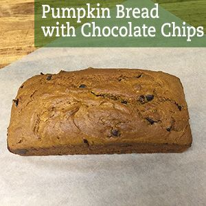 Pumpkin isn't just for the fall - try this delicious bread! Makes 1 loaf, 402 calories per slice (20 slices per loaf)