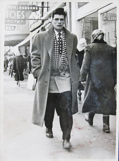 "Stylish! ""My boyfriend's grandfather Papa Joe, who just had his 80th birthday last month"" (from 'The Sartorialist' vintage project)"
