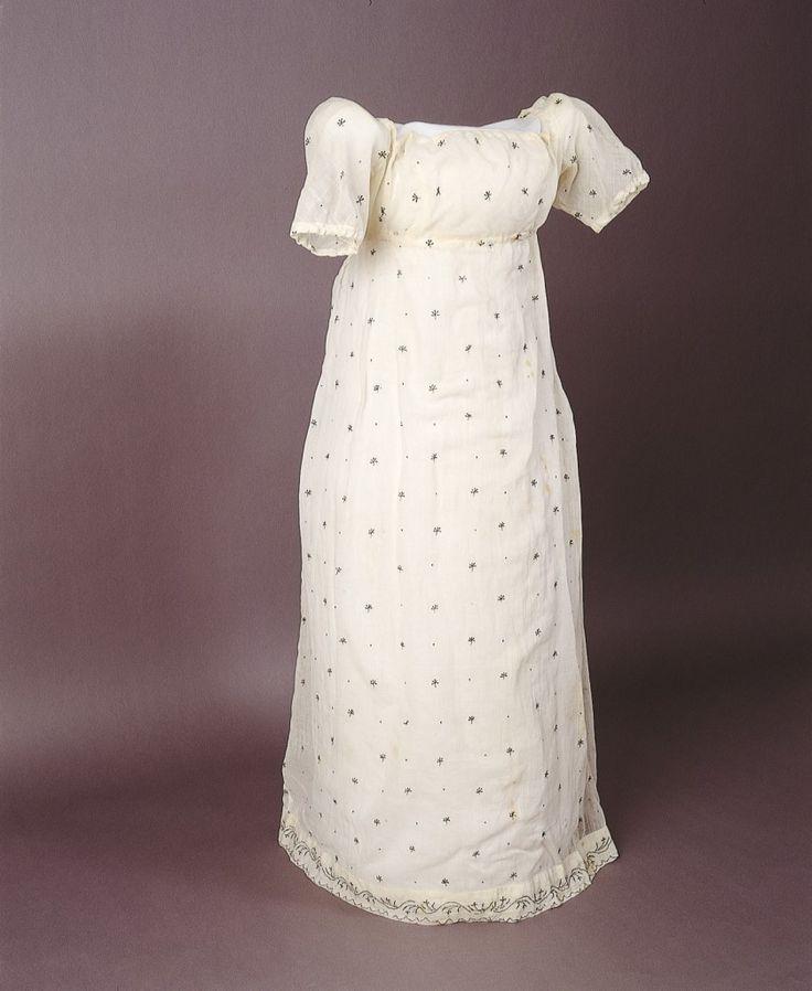 1805 Colonial Australian dress - Anna King's evening dress.