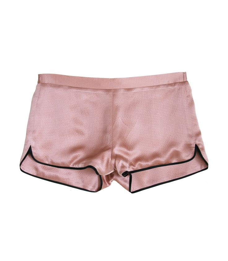 Fleur Du Mal Rose Pink Pajama Short. Cute and comfy. ZzzZzzzzzz