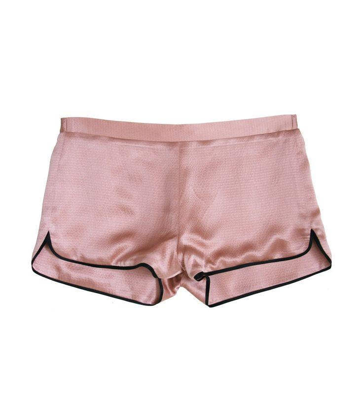 Fleur Du Mal Rose Pink Pajama Short