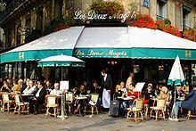 Enjoy Paris best hot chocolate at les Deux Magots