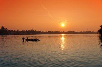Моя фотография лагуны Негомбо, Шри-Ланка