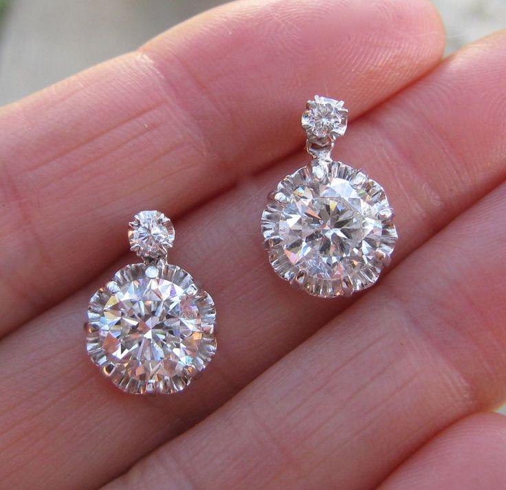 Best 25 Real Diamond Earrings Ideas On Pinterest Diamond Earrings Diamond Stud Earrings And