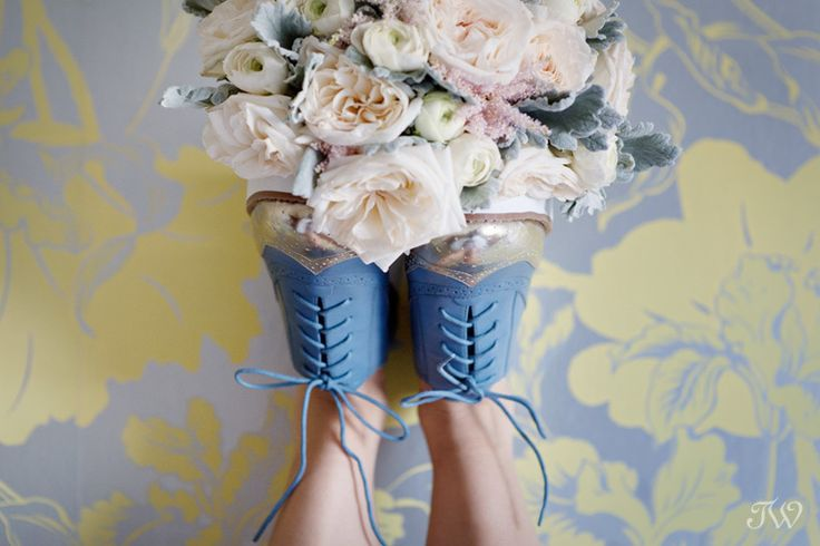It's wedding shoe week   Blue brogues from @ninewestcanada   Something borrowed, something blue   Calgary wedding photographer