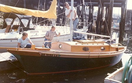 Fancy Free sailboat plans