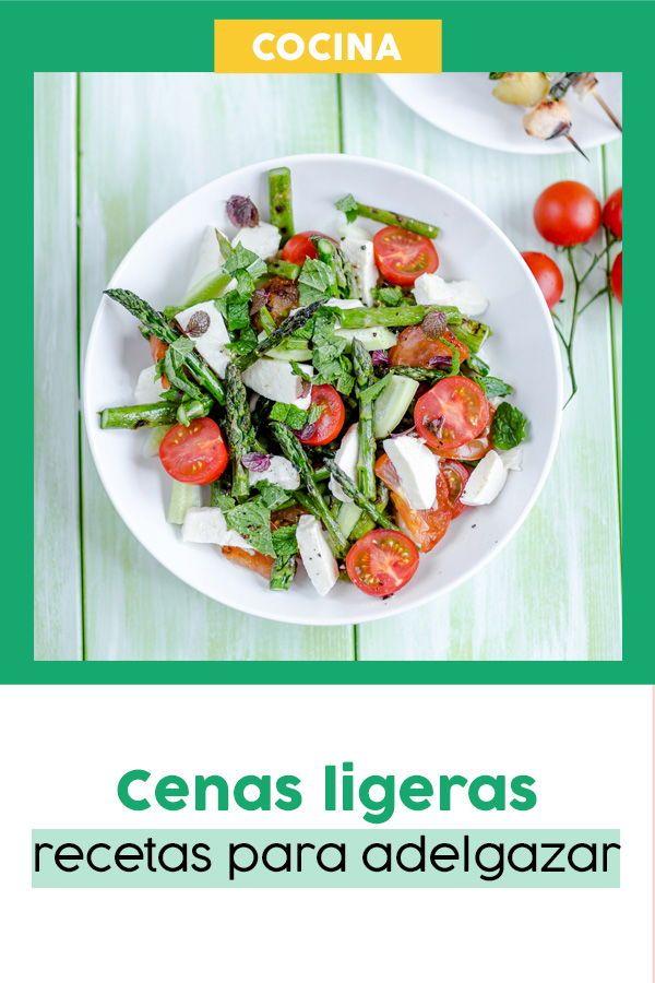 Cenas ligeras y saludables para adelgazar