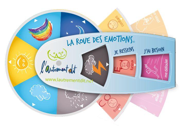 La roue des émotions est un outil pour apprendre à se connaître, apprendre à dire ce qu'on ressent, que l'on soit enfant, adolescent ou adulte