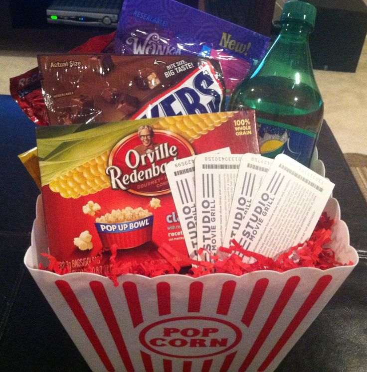 Tenant Lease Renewal Movie Gift Basket Snacks Popcorn 1