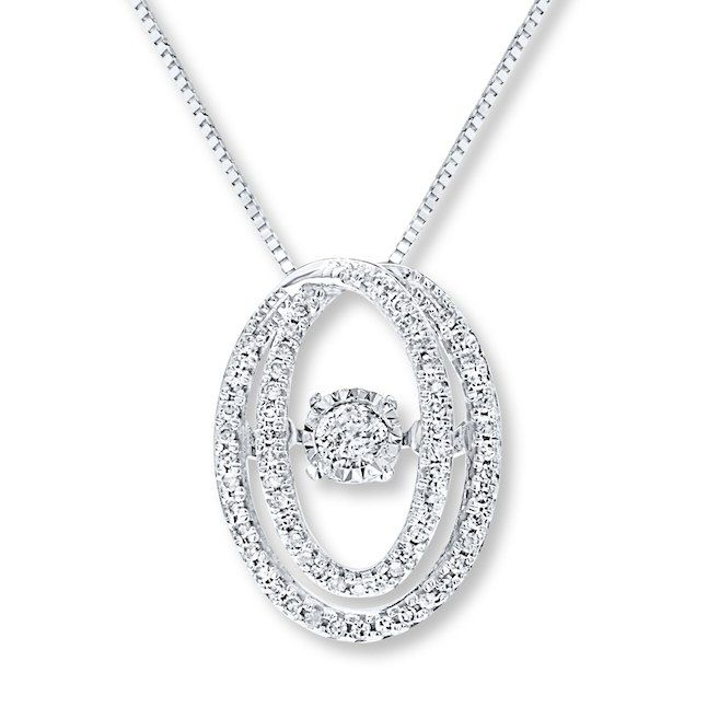 Unstoppable Love Necklace 1 3 Carat Tw 10k White Gold Jared White Gold Necklaces White Gold Amazing Jewelry