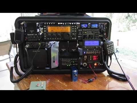 Ham Radio Rapid Deployment Simulation FT-817ND & Chameleon Windom 40 Arctic Circle NOV2016 - YouTube