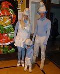 Homemade Smurfs Costumes - 2012 Halloween Costume Contest
