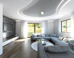 Parter domu jednorodzinnego - zdjęcie od Art&Design Kinga Śliwa