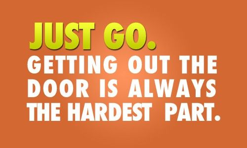More like getting downstairs is the hardest part.