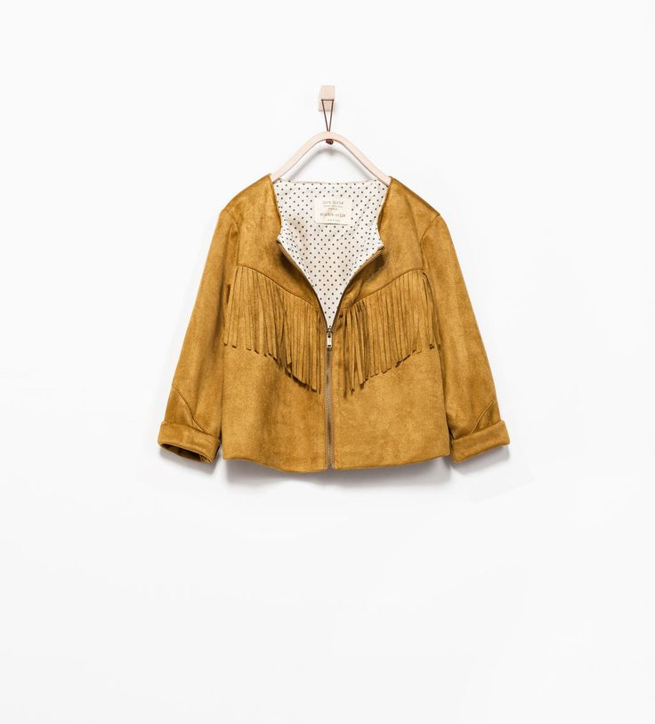 FRINGED JACKET - Jackets - Girl (3 - 14 years)