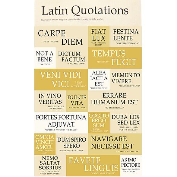 Latin Phrases 25