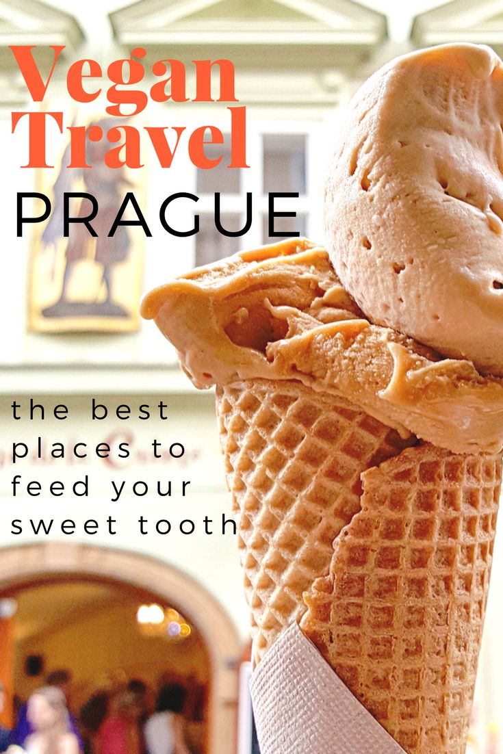 Vegan Sweets Travel Guide to Prague: All the best places to get delicious vegan dessert in Prague, Czech Republic! Click here to find out where to feed your sweet tooth in Prague.