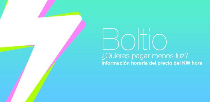 Boltio, la app que nos ayudará a ahorrar en la factura de la luz.  Disponible para Android y próximamente también para iOS. https://play.google.com/store/apps/details?id=mobi.kinetica.boltio.app