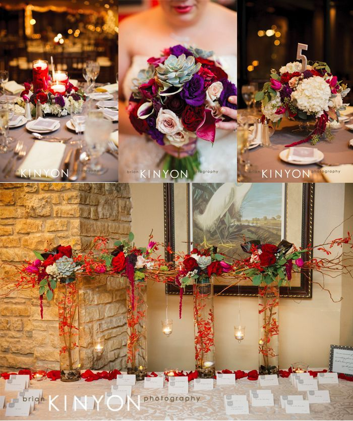 Rich Colorful And Textured Wedding Flowers Riverside