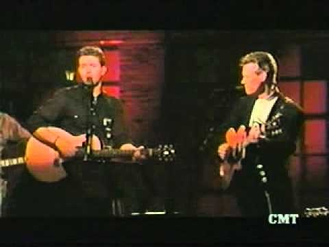 Josh Turner and Randy Travis - Long Black Train  One of my Mom's favorite songs and two of her favorite artists.