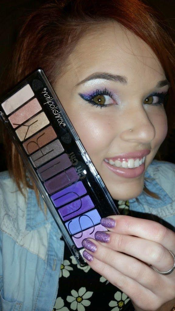 nailpolishrox04: Dramatic purple eyes