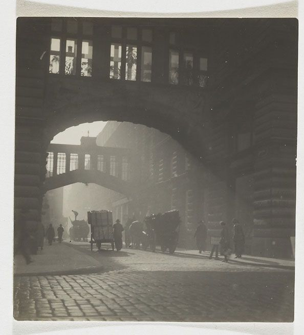Josef Sudek, In Nekázanka Street, Prague, 1928 Light & Shadow; B&W