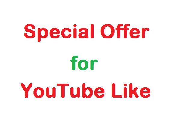 Add 500 YouTube Likes on your video for $5