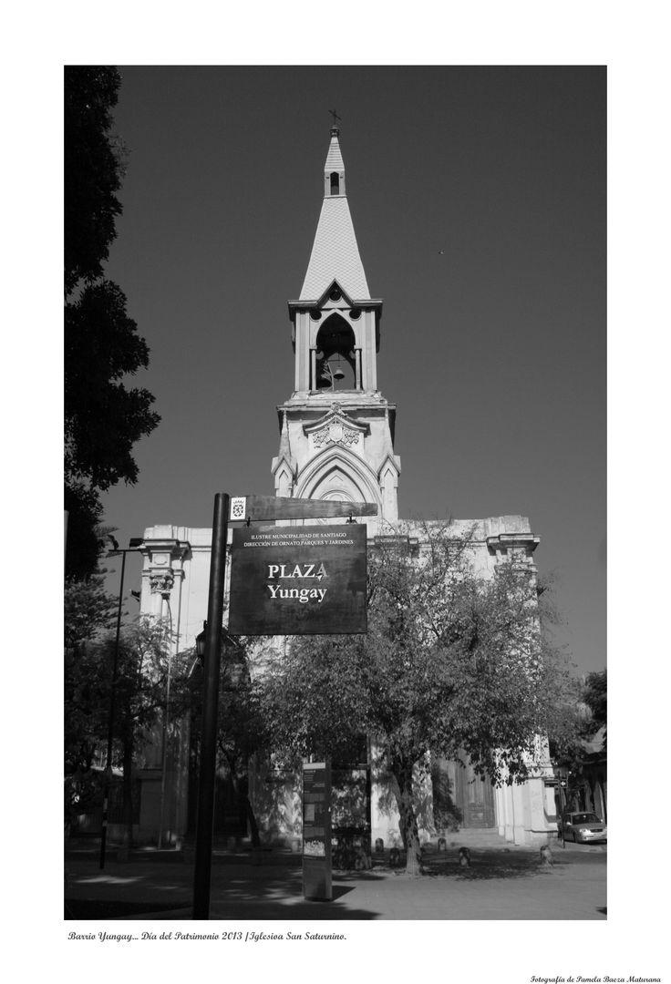 Iglesia San Saturnino vista frontal