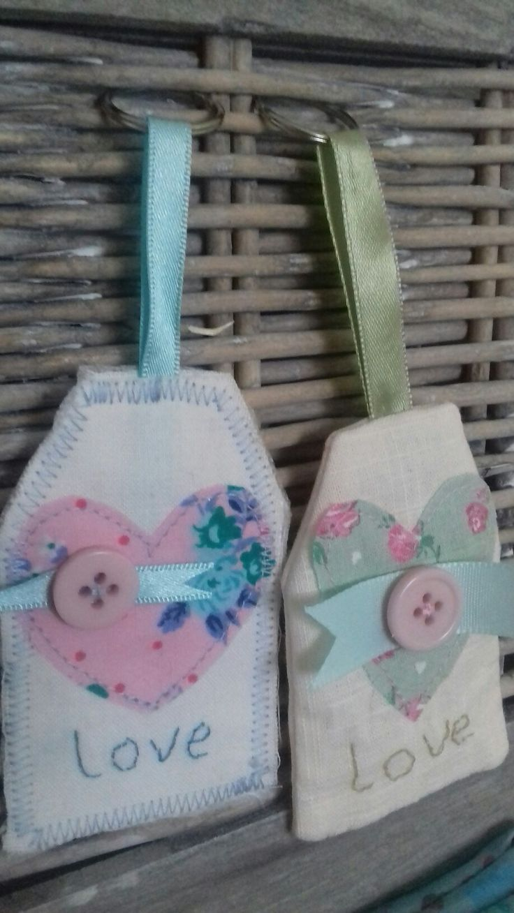 Shabby Chic Keyrings