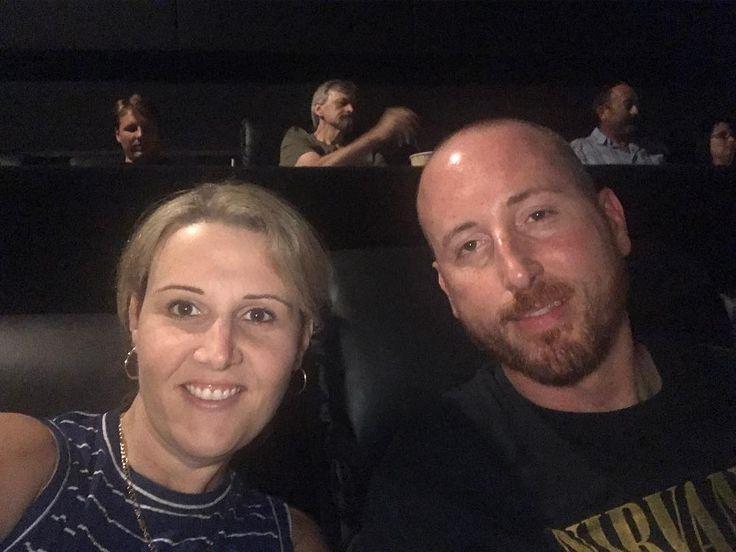 Movie night with my bro