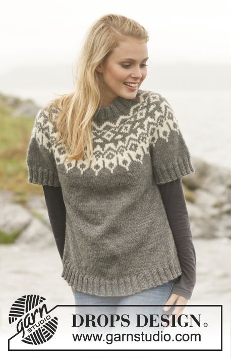 79 Best Pullover Images On Pinterest Knitwear Knit Patterns And