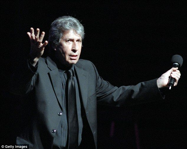 Tragic: Comedian David Brenner, seen here performing standup in Philadelphia in 2010, passed away at his home in New York on Saturday following a battle with cancer