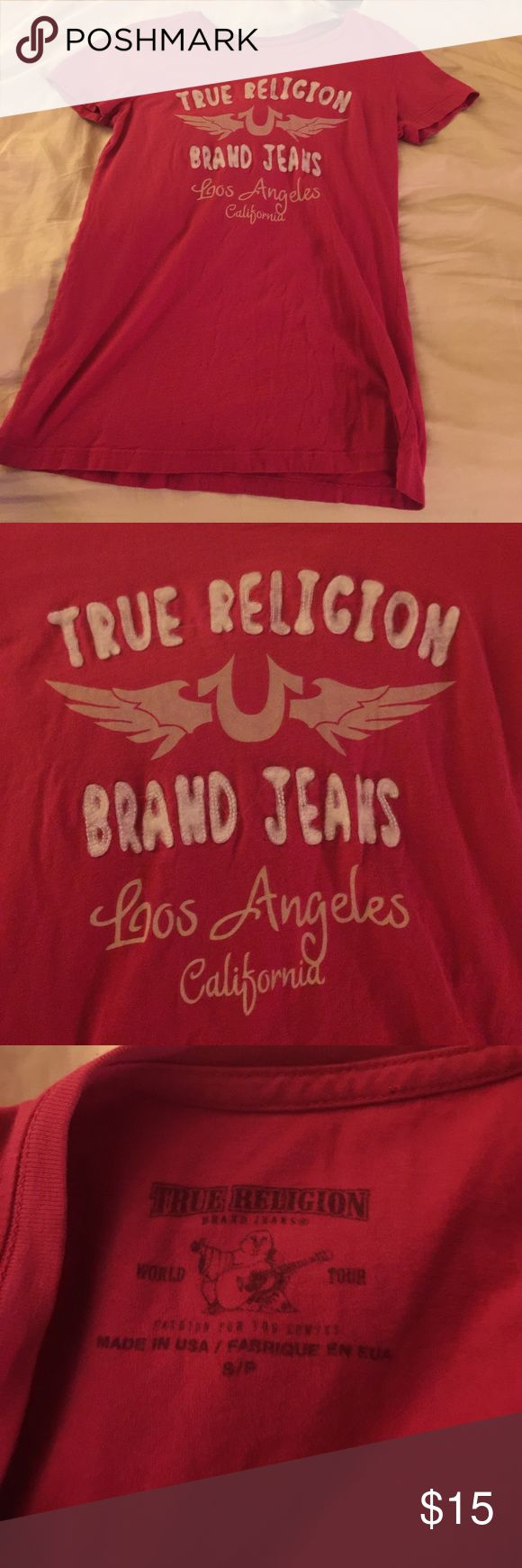 True religion t shirt Previously loved true religion t shirt size small True Religion Tops Tees - Short Sleeve
