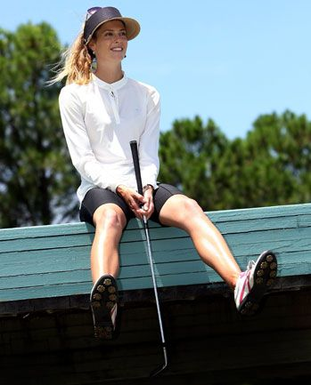 Just give Rawson her own line of golf wear all ready.