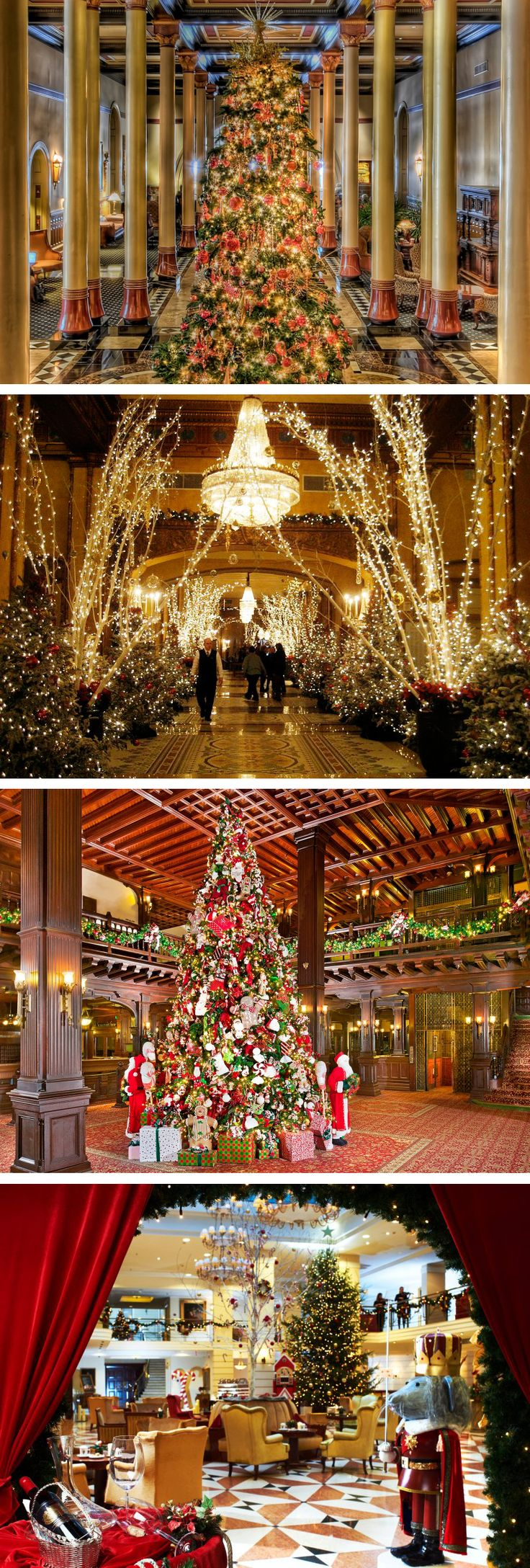 17 best ideas about christmas essay christmas photo essay sparkling hotel lobbies decked out for christmas