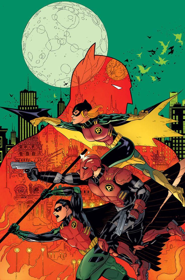 Patrick Gleason - Batman, Red Robin, Red Hood e Robin