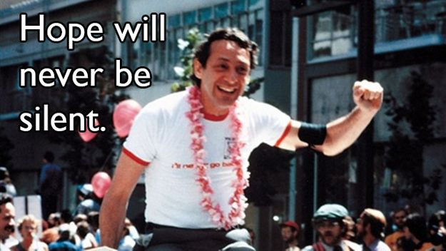 """Hope will never be silent."" 14 Harvey Milk Quotes That Will Inspire You"