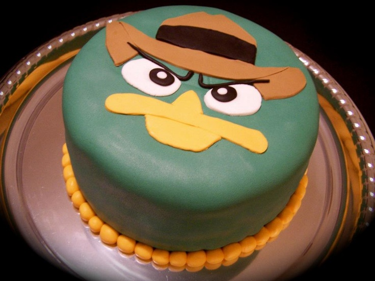 Agent P Cake = Where's Perry?