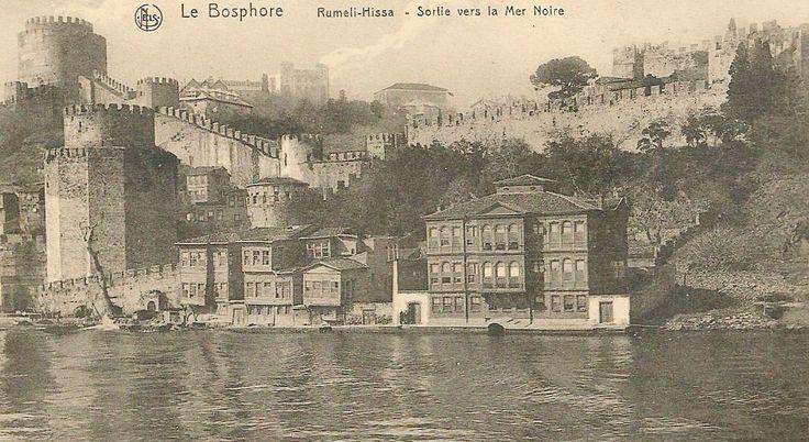 Rumelihisarı, 1910 Rumeli hissar, Bosphore.