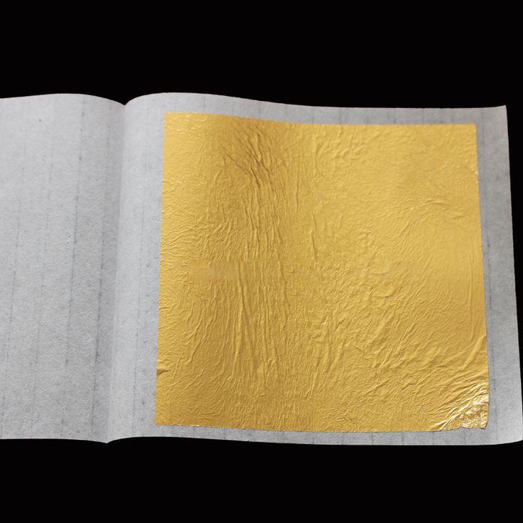 Купить товар24 К Реальный Подлинный золотой лист фольги Для Пищевой/Красота/Уход За Лицом, gilding10 штук, 4.33 Х 4.33 см для одной части размер, бесплатная доставка в категории Крафт-Бумагана AliExpress. 24 К Реальный Подлинный золотой лист фольги Для Пищевой/Красота/Уход За Лицом, gilding10 штук, 4.33 Х 4.33 см для одной части размер, бесплатная доставка