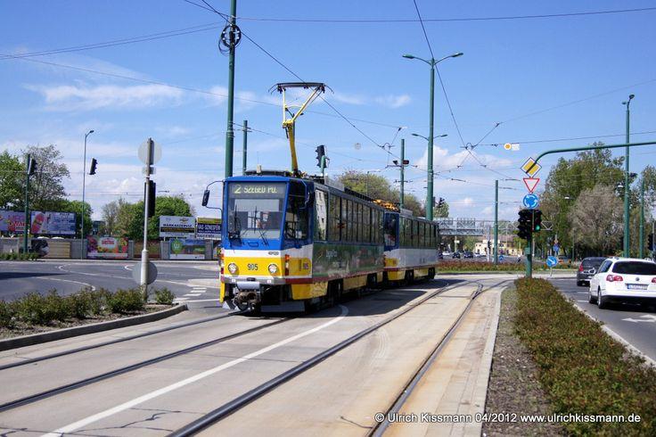905 Szeged Vásárhely Pál út 20.04.2012 - (ČKD) Tatra T6A2