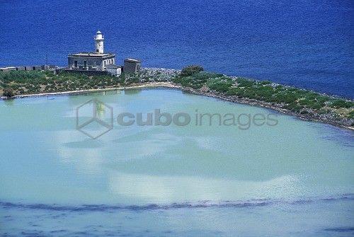 Cape, Salina island, Trapani, Sicily, Italy