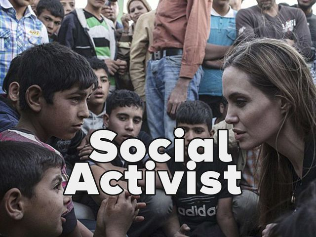 I got: Social Activist! I don't know where this came from? I just think they are trying to persuade people to do something...