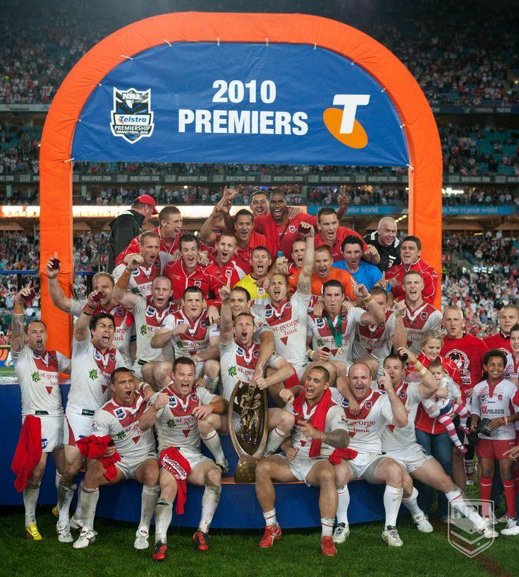 St George Illawarra Dragons - 2010 #NRL Premiers