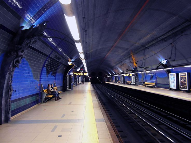 When we think about underground Metro Stations, the last thought that comes to mind is architecture design and interior design of the stations. There are some Train / Metro Stations around the world that are
