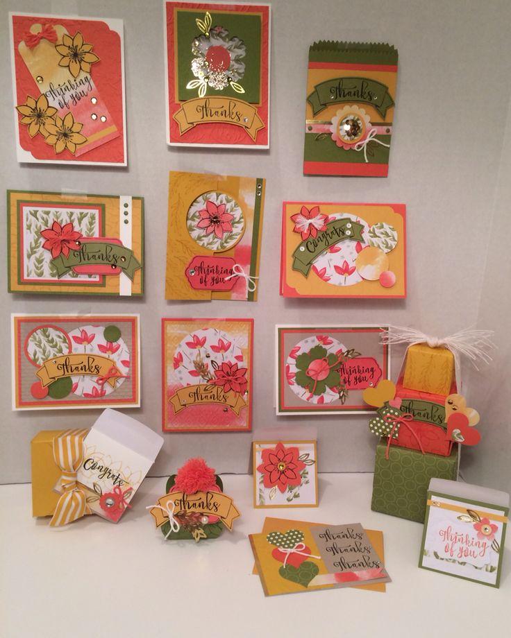 Paper Pumpkin, Stampin' Up!, Oct. 2015, Blissful Bouquet, Designed by Kris Dickinson,