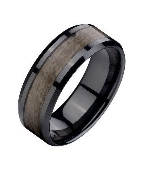 elegant wood wedding engagement rings Wood Wedding Rings with Something Good