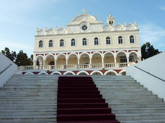Panagia Evangelistria Church Tinos island