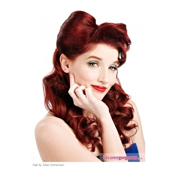 hair styles for back to school 1000 images about 50 s pin up hairstyle on 3063
