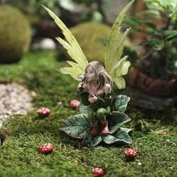Enchanting Pixie Fairy Garden Figurine - Table and Shelf Sitters - Home Decor